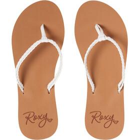 Roxy Costas Sandalias Mujer, white